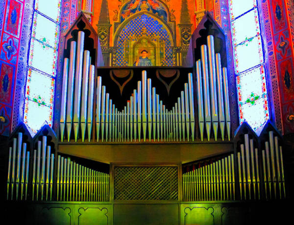 Photograph - Pipe Organ In Bologna by Jenny Setchell