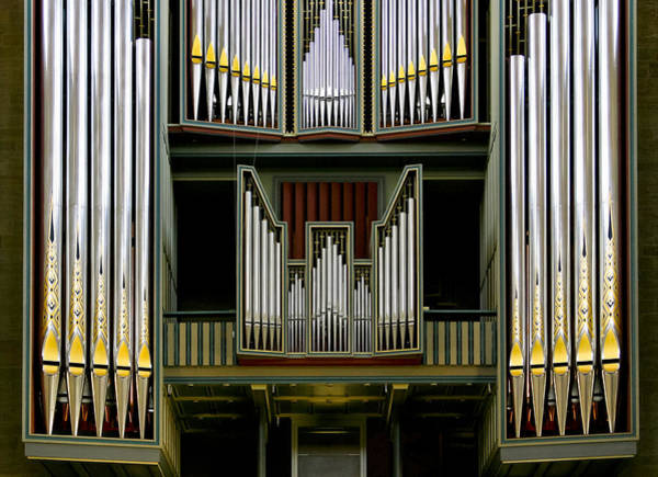 Photograph - Pipe Organ In Hildesheim by Jenny Setchell