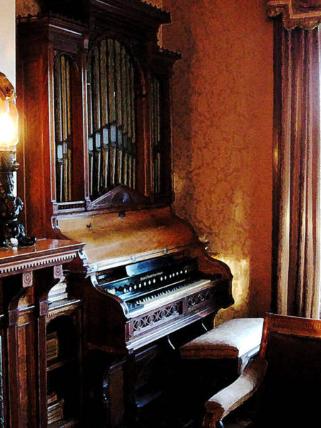 Photograph - Pipe Organ In Living Room by Susan Savad