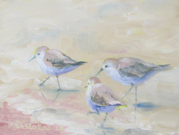 Wall Art - Painting - Pipers Three by Susan Richardson