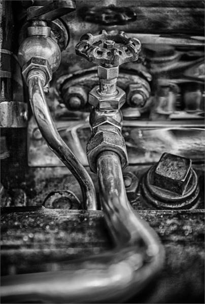 Traction Photograph - Pipework  by Nigel Jones