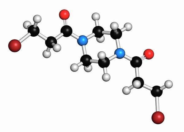 Pharma Wall Art - Photograph - Pipobroman Cancer Chemotherapy Drug by Molekuul