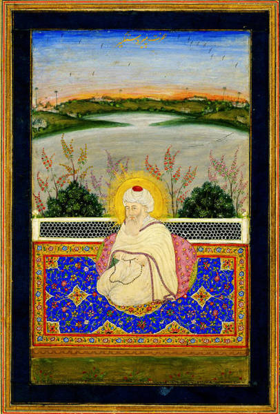 Drawers Painting - Pir Dastgir From The Mughal Era by Celestial Images