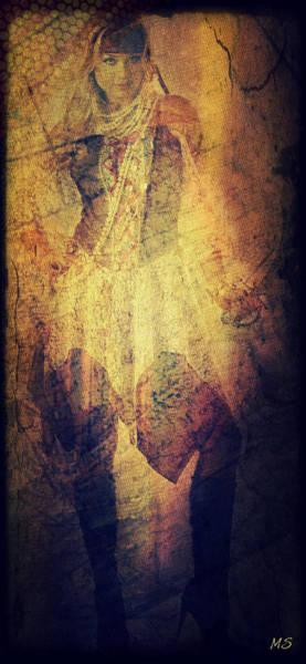 Pirates Of The Caribbean Digital Art - Pirate Gretchen by Absinthe Art By Michelle LeAnn Scott