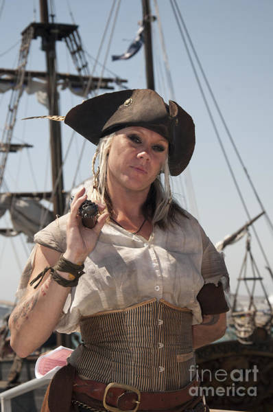 Photograph - Pirate Queen With A Bad Attitude by Brenda Kean