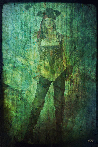 Pirates Of The Caribbean Digital Art - Pirate Samantha by Absinthe Art By Michelle LeAnn Scott