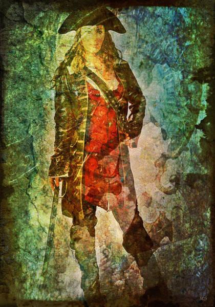 Pirates Of The Caribbean Digital Art - Pirate Woman by Absinthe Art By Michelle LeAnn Scott