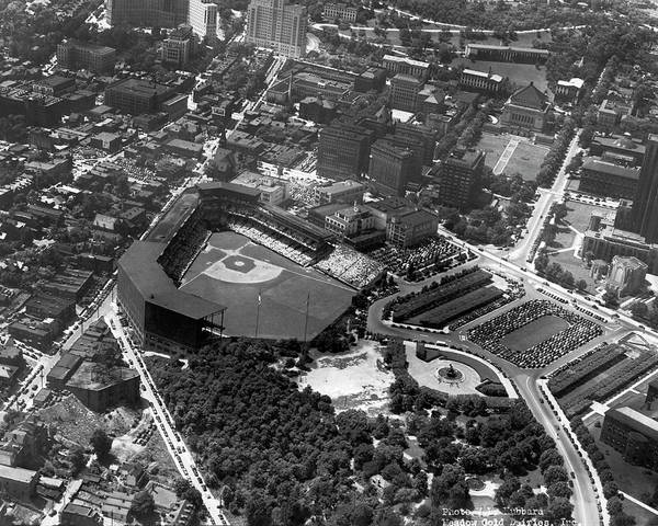 Photograph - Pirate's Forbes Field by Underwood Archives