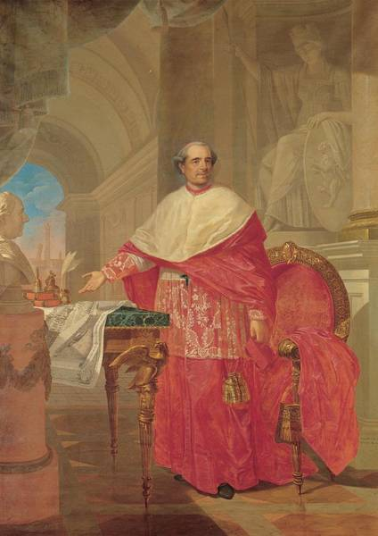 Wall Art - Photograph - Pirovani Giuseppe, Portrait Of Cardinal by Everett