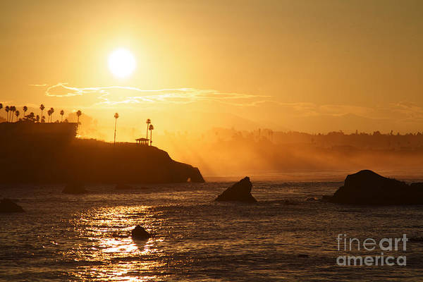 Wall Art - Photograph - Pismo Beach Coast At Sun Rise In The Golden Light by ELITE IMAGE photography By Chad McDermott