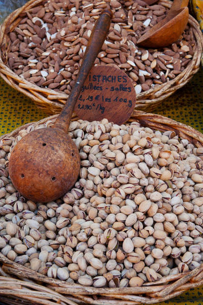 Wall Art - Photograph - Pistachios For Sale At Weekly Market by Panoramic Images