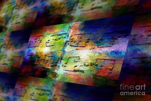 Art Print featuring the digital art Pitch Space 2 by Lon Chaffin