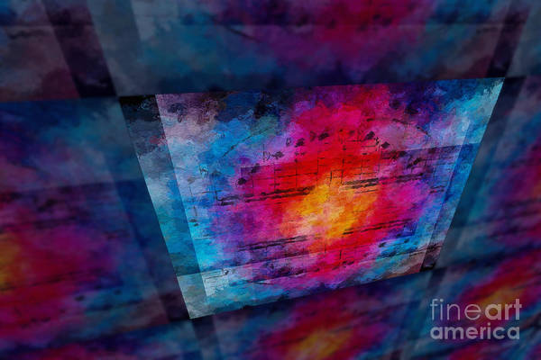 Art Print featuring the digital art Pitch Space 3 by Lon Chaffin