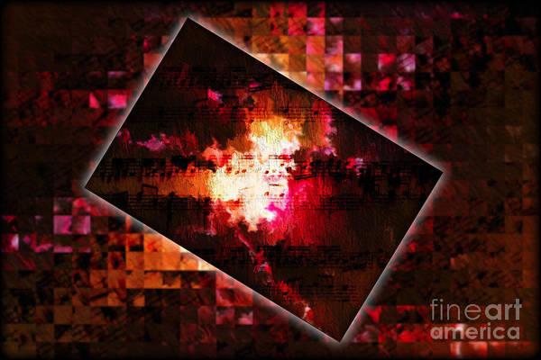 Digital Art - Pitch Space Grid 1 by Lon Chaffin