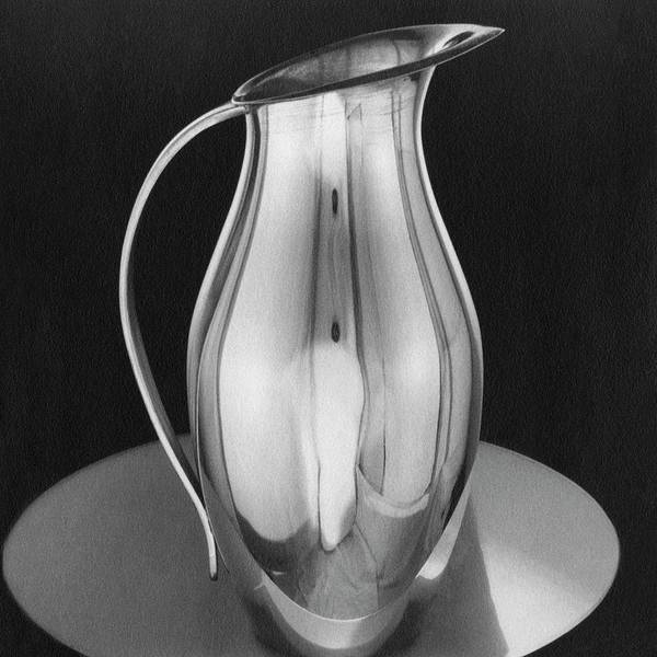 Home Accessories Photograph - Pitcher From Ovington's by Martinus Andersen