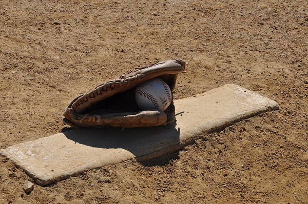 Mound Photograph - Pitchers Mound by Bill Cannon