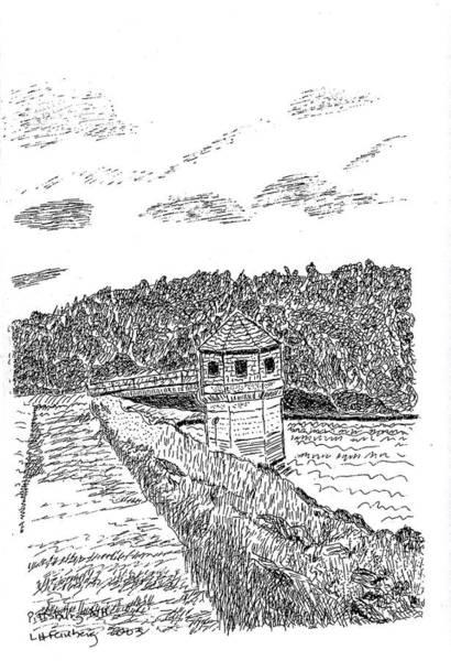 Pittsburg Dam Art Print