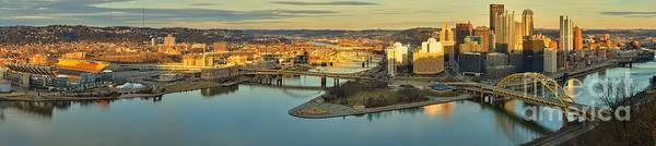 Photograph - Pittsburgh - The North Shore And City Skyline by Adam Jewell