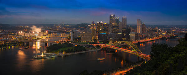 Pa Photograph - Pittsburgh Pa by Steve Gadomski