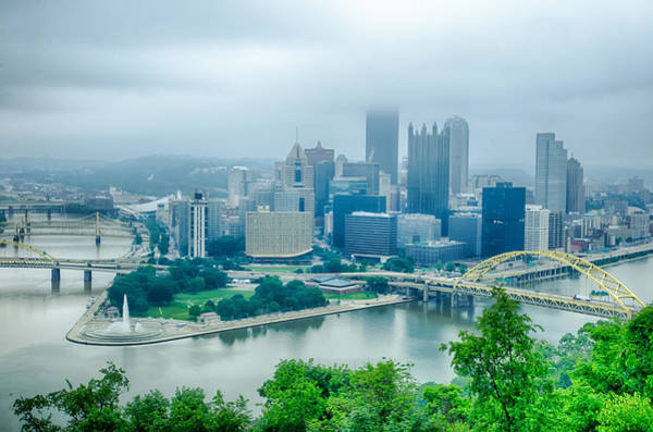 Photograph - Pittsburgh Pennsylvania - City In The United States by Alex Grichenko
