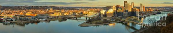 Photograph - Pittsburgh Pennsylvania Skyline Reflections by Adam Jewell