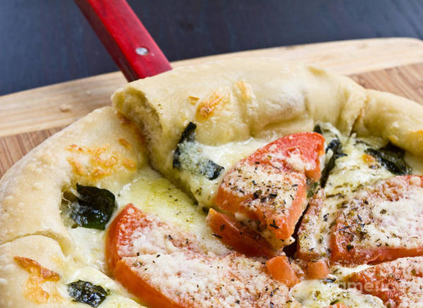 Italian Cuisine Photograph - Pizza by Edward Fielding