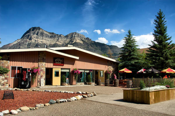 Photograph - Pizza Of Waterton by Trever Miller