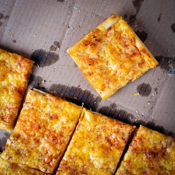 Square Wall Art - Photograph - Pizza Pizza by Matthias Hauser
