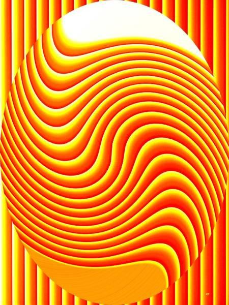 Borden Digital Art - Pizzazz 45 by Will Borden