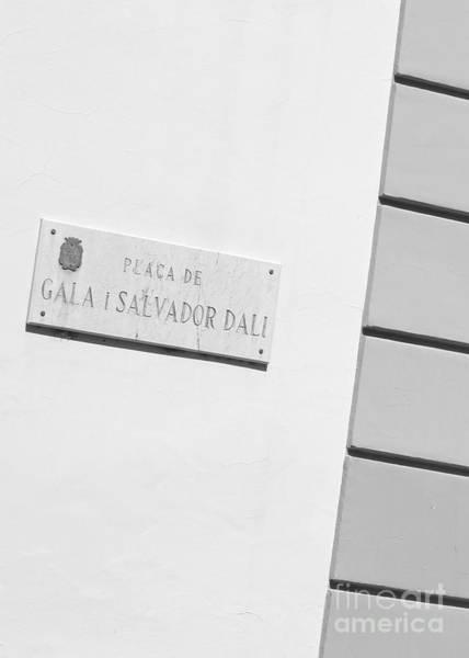 Wall Art - Photograph - Placa De Salvador Dali by Carol Groenen