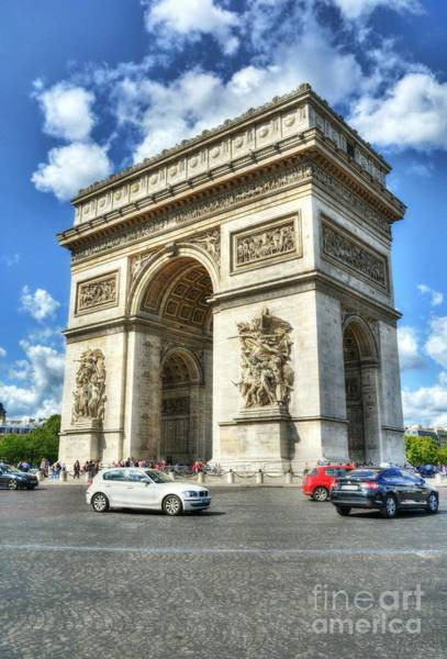 Photograph - Place Charles De Gaulle 2 by Mel Steinhauer
