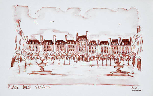 Wall Art - Photograph - Place Des Vosges In The Historic by Richard Lawrence