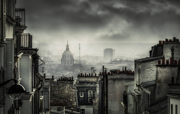 Roofs Photograph - Plague by La Taverne Aux