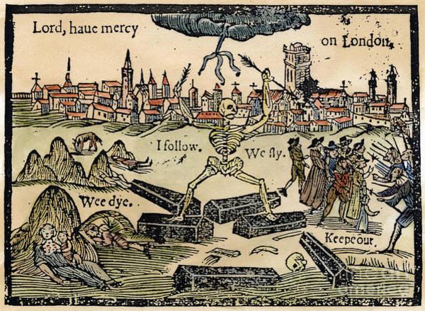 Photograph - Plague Of London, 1665 by Granger