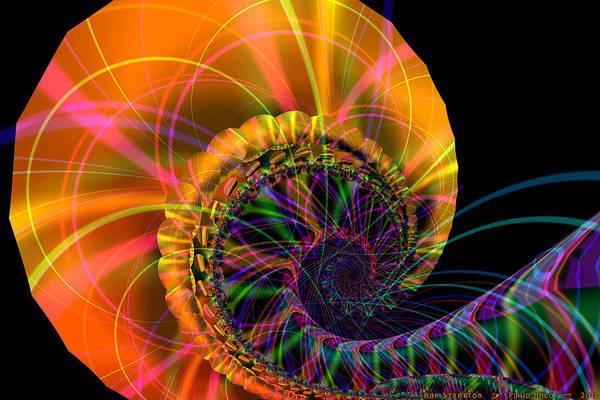 Digital Art - Plaid Halo  by Ann Stretton