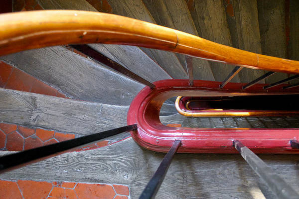 Photograph - Plain Parisian Stairs by Jenny Setchell