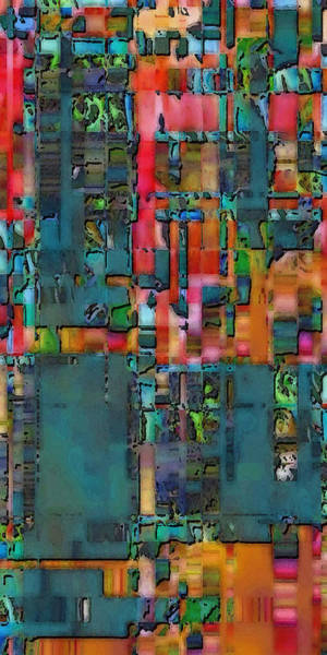 Digital Art - Plan View by David Hansen