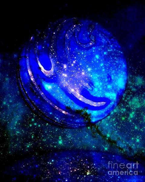 Wall Art - Digital Art - Planet Disector Reflected by Saundra Myles