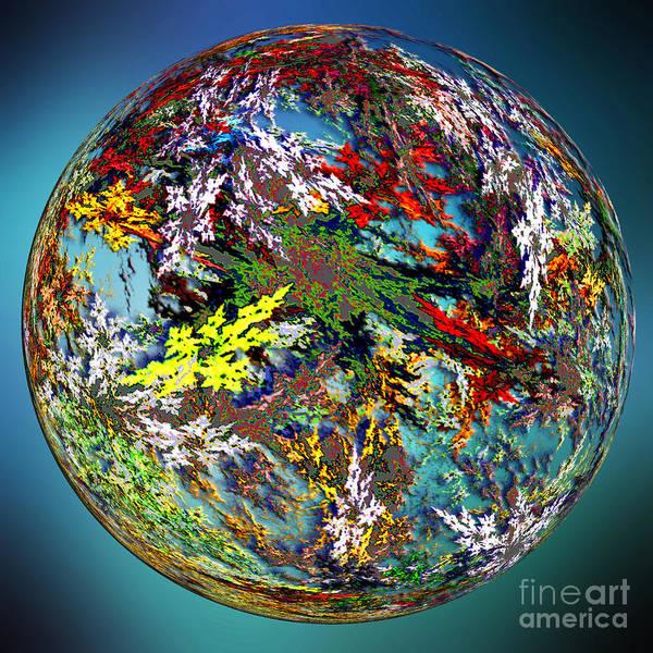 Hippy Digital Art - Planet Of Hippies by Klara Acel