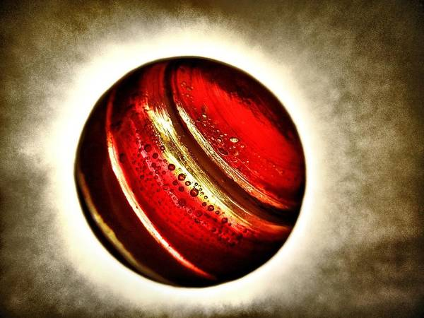 Photograph - Planet Passion - My Little Planets Series  by Marianna Mills