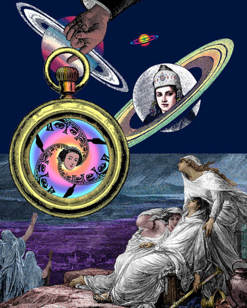 Digital Art - Planetary Oracles by Eric Edelman