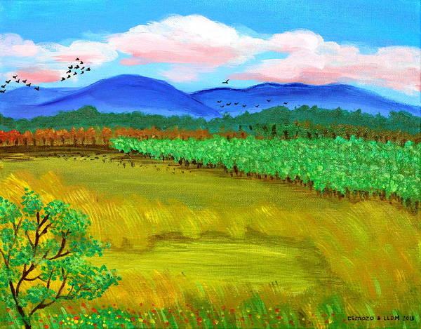 Painting - Plantation by Cyril Maza