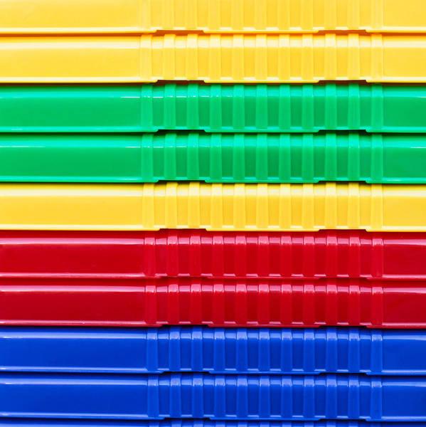 Wall Art - Photograph - Plastic Background by Tom Gowanlock