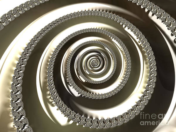 Digital Art - Platinum by Vix Edwards