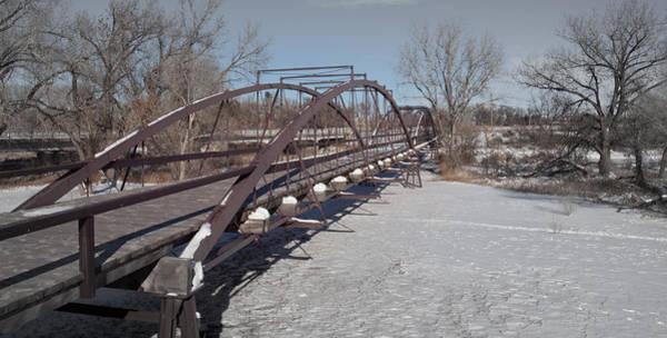Photograph - Platte River Bridge by HW Kateley