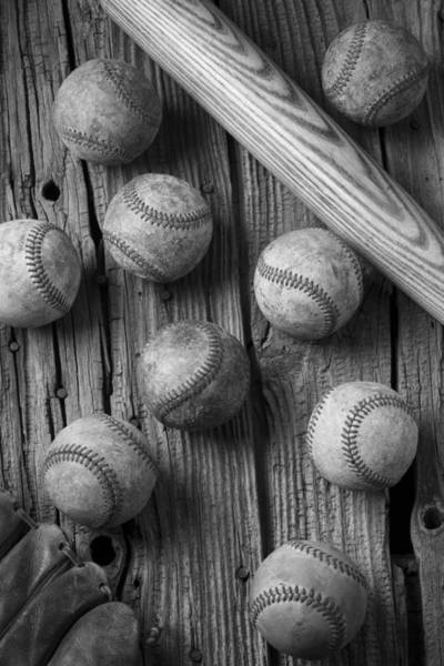 Memory Game Photograph - Play Ball by Garry Gay