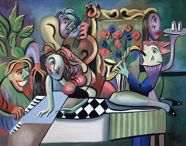 Painting - Play It Again Sam by Anthony Falbo
