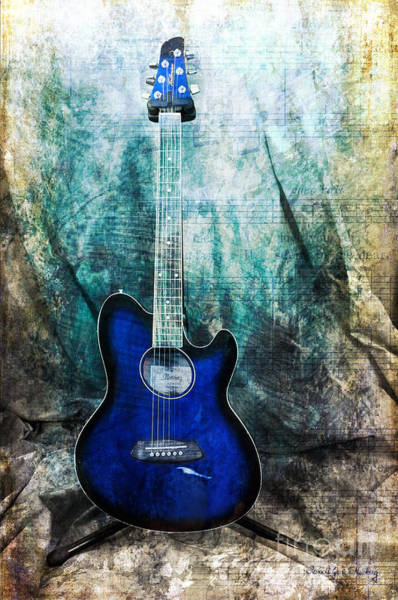 Photograph - Play Me Some Blues by Randi Grace Nilsberg