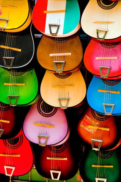 Spanish Guitar Wall Art - Photograph - Play Me Some Music by Aron Kearney