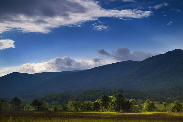 Cades Cove Photograph - Play Of Light by Andrew Soundarajan